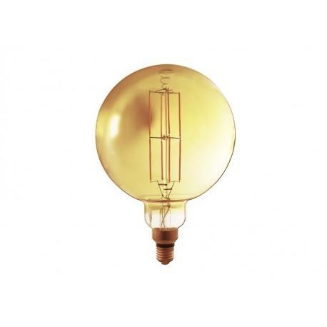 Lampadina led filamento ambra G200 E27 8W 750LM 300° 305*200mm