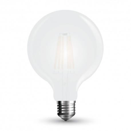 Lampadina-globo-8w-led-G125-filamento-frosted