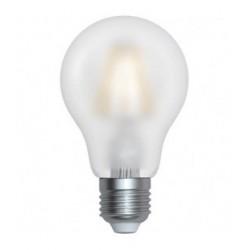 Lampadina LED E27 filamento 8W in vetro Bianco 300° A60