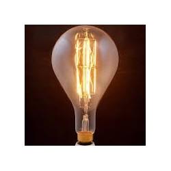 Lampadina led filamento ambra GLS160 E27 8W 750LM 300° 300*160mm