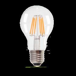 Lampadina filamento dimmerabile A60 E27 8W