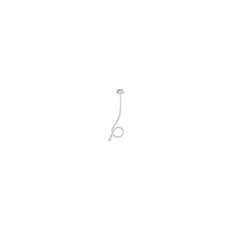 Plafoniera lover flessibile siliconato nero 1XE14