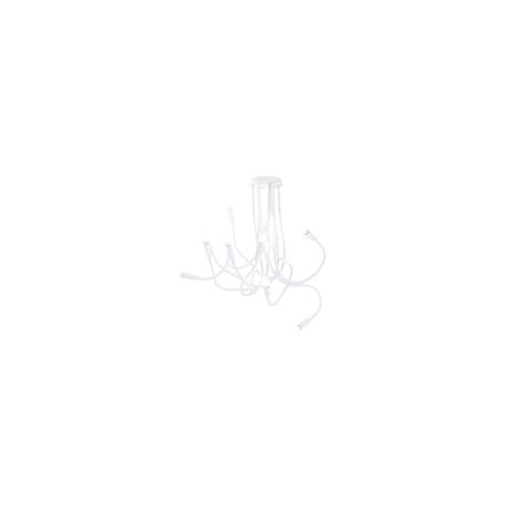 Plafoniera lover flessibile siliconato bianco 9XE14