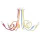 Plafoniera lover flessibile siliconato multicolor 6XE14