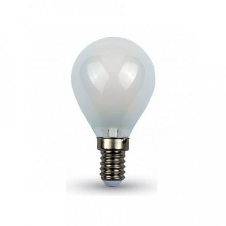 Lampadina led filamento miniglobo E14 4W 470LM
