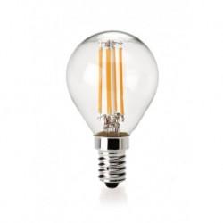 Lampadina led filamento globo globo bco E14 4W 470LM 300° 45*78mm