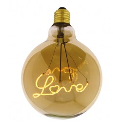 Lampadina Filament Curved Led LOVE UP