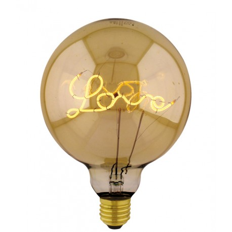 Lampadina Filament Curved Led LOVE DOWN