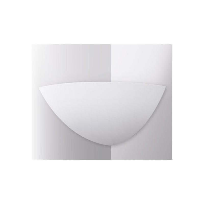 Applique da parete in resina di gesso angolare - Applique in gesso da parete ...
