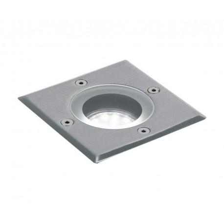 Porta Faretto calpestabile quadrato carrabile IP67 con attacco GU10