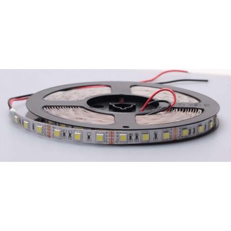 Striscia LED RGB SMD5050 12V 60LED/Mt 14.4W/Mt - 5 Metri