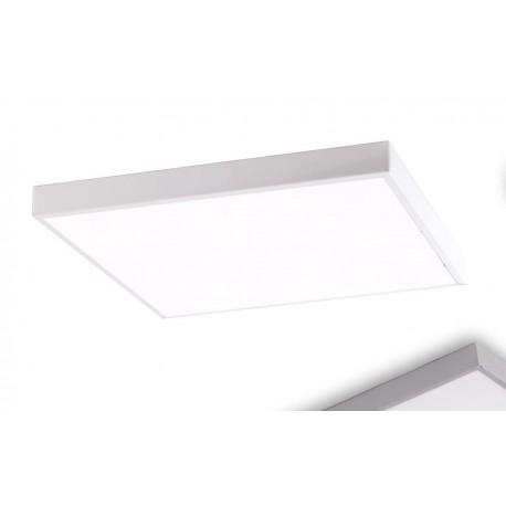 Supporto per montaggio pannelli led 60x60 in metallo laccato bianco